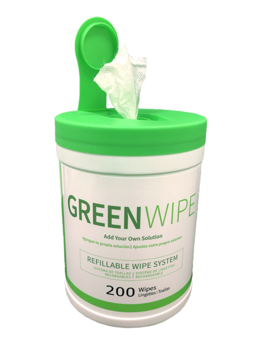 "GreenWipe| DRY Wipe System for Solvents 5"" x 7"" x 200 Sheets - Buygreenchem"