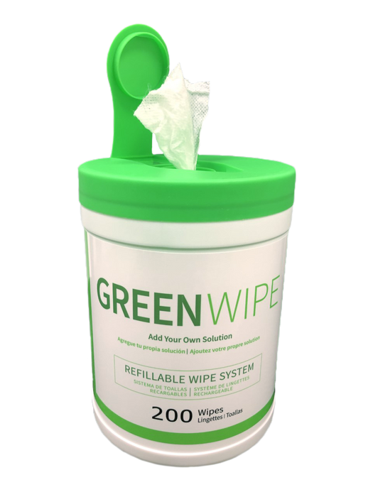 "CHOOSE YOUR FAVORITE BUNDLE AND GET 2 FREE GIFTS WHEN PURCHASING 1 OF OUR GREENWIPE CANISTER | DRY Wipe System for Solvents 5"" x 8"" x 200 Sheets 