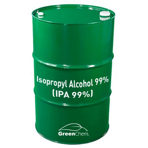 GreenChem Isopropyl Alcohol 99% (IPA)  | Technical Grade Pure Rubbing Alcohol - Buygreenchem