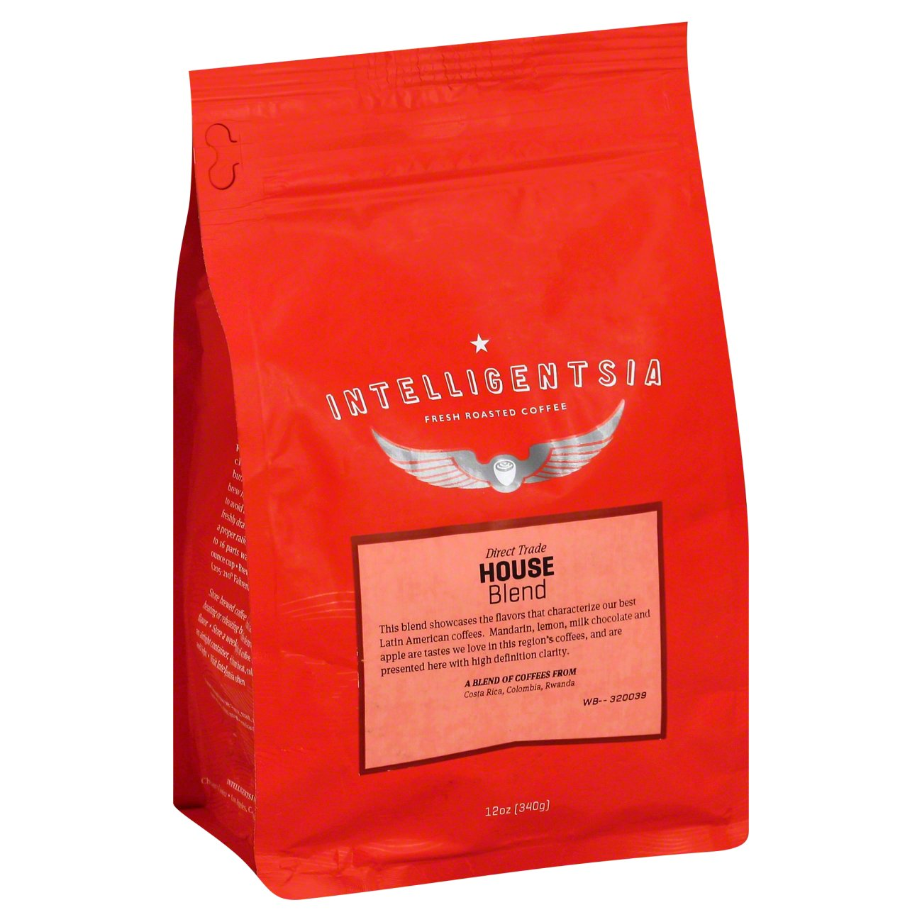 Intelligentsia House Blend Ground Coffee - 12oz bag