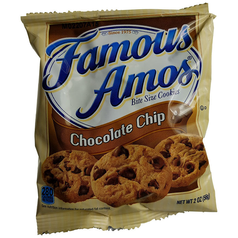 Famous Amos Chocolate Chip Cookies 2oz (60/Case)