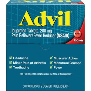 Advil Capsules - 50/2 Pack
