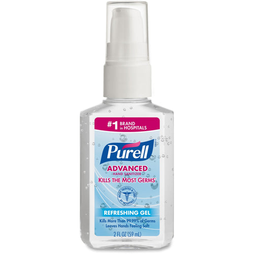 Purell® Advanced Hand Sanitizer Gel Pump 2oz