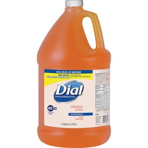 Dial Professional Original Gold Liquid Hand Soap Refill Antibacterial/Antimicrobial Gallon