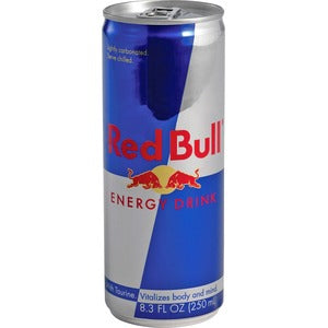 Red Bull 24-8.3oz cans per case