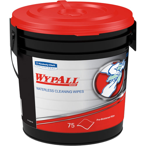 Wypall Waterless Cleaning Wipes 75/Bucket