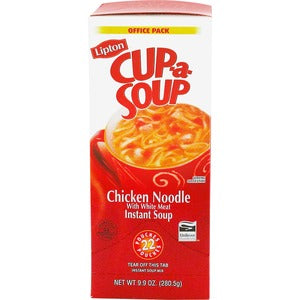 Lipton Chicken Noodle Cup-a-Soup 22ct