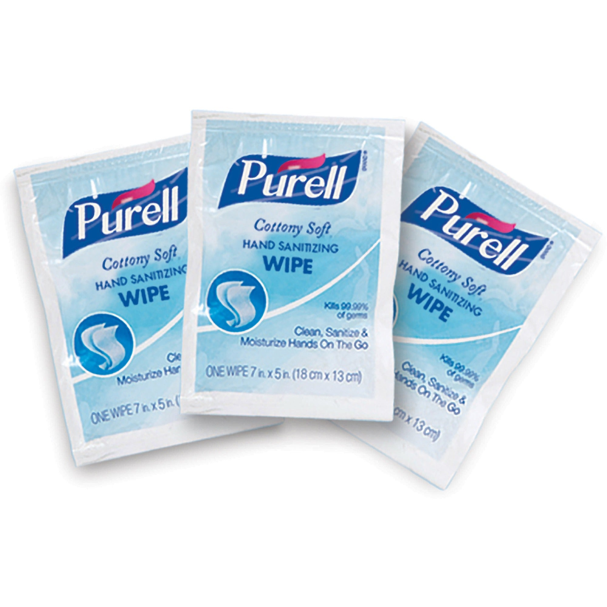 PURELL® Cottony Soft Hand Sanitizing Wipes 1000/Case Bulk
