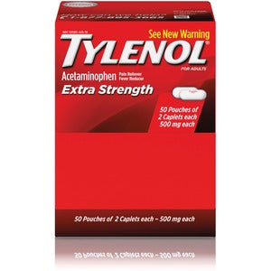 Tylenol Extra Strength Packets -50/2 packs