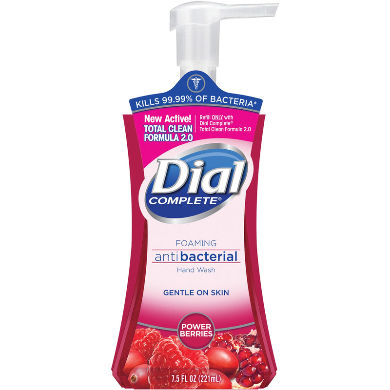 Dial Complete Power Berry Foaming Hand Soap 7.5oz Antibacterial