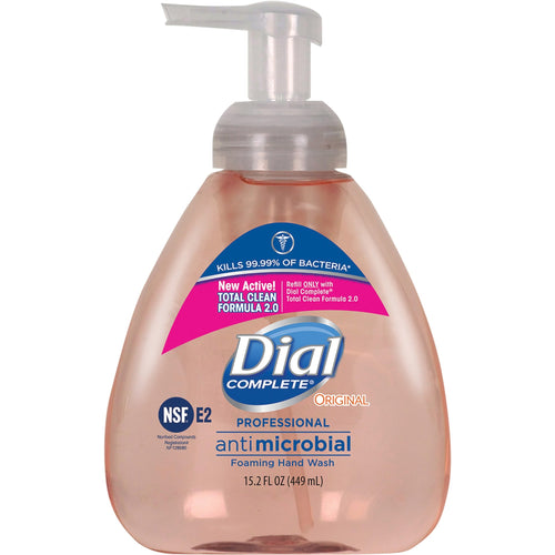 Dial Complete Professional Antimicrobial Foaming Hand Soap 15.2oz