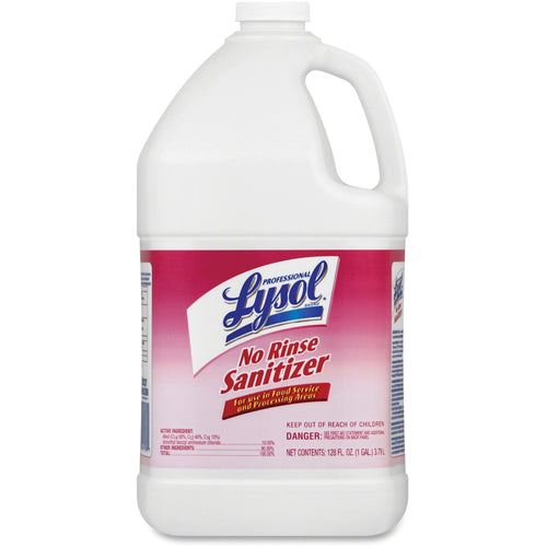 Lysol Professional No Rinse Sanitizer 128oz