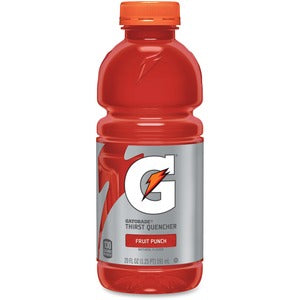 Gatorade Fruit Punch 24-20oz bottles per case