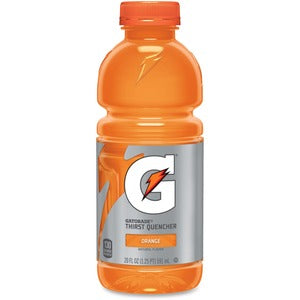 Gatorade Orange 24-20oz bottles per case