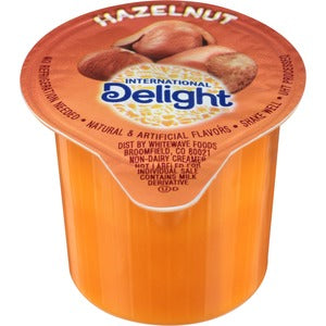 Int'l Delight Hazelnut 192 containers per case