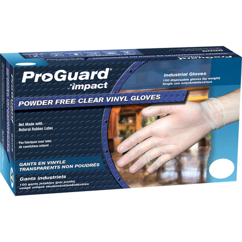 ProGuard Disposable Medium Vinyl Gloves 100/Box 8608