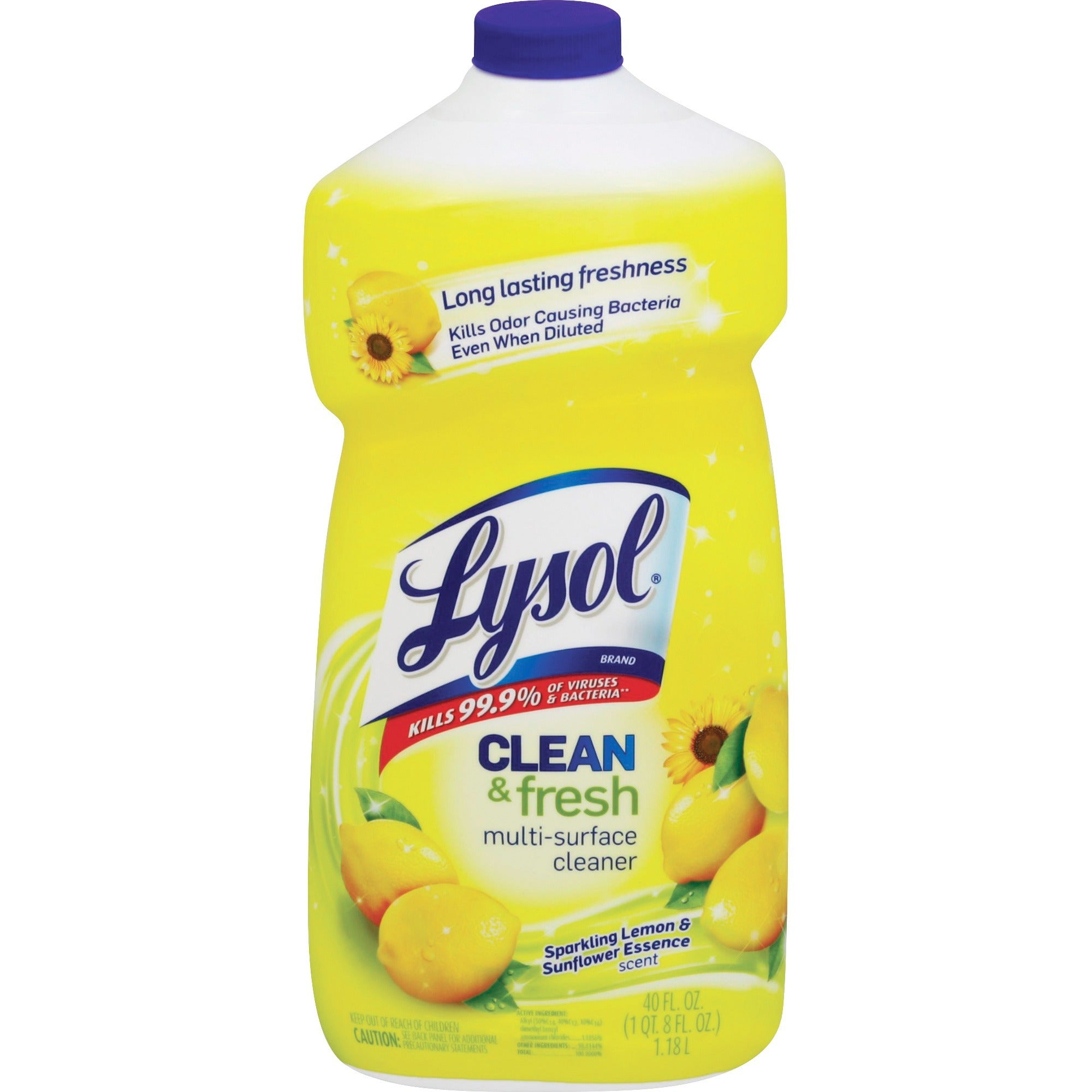 Lysol Clean & Fresh Lemon Cleaner 40oz