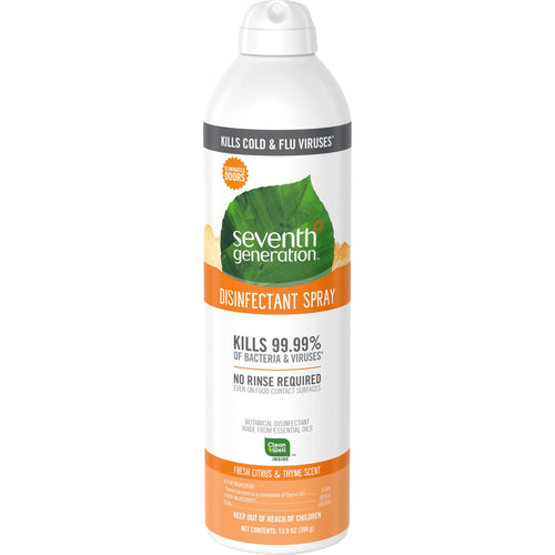 Seventh Generation Disinfecting Cleaner 13.9oz Fresh Citrus & Thyme Scent