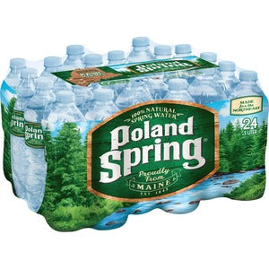 Poland Spring Water 24/16.9oz