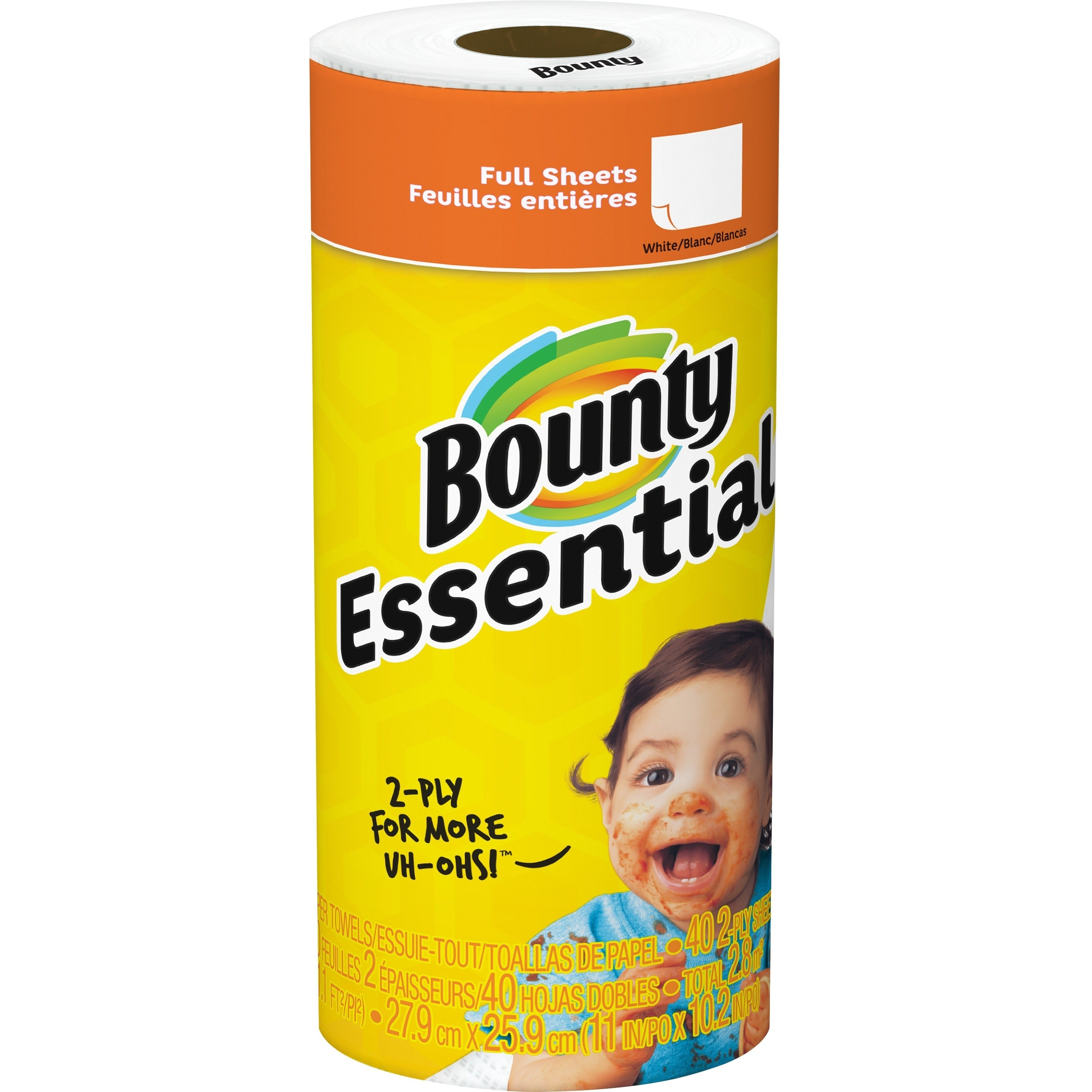 Bounty Essentials Paper Roll Towels