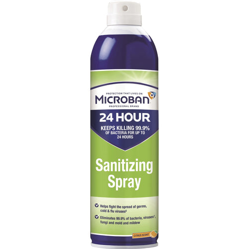 Microban Professional Sanitizing Disinfecting Spray 15oz