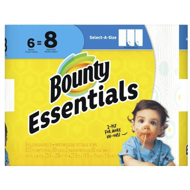 Bounty Essentials Bounty Select-A-Size Paper Towel 6 Pack