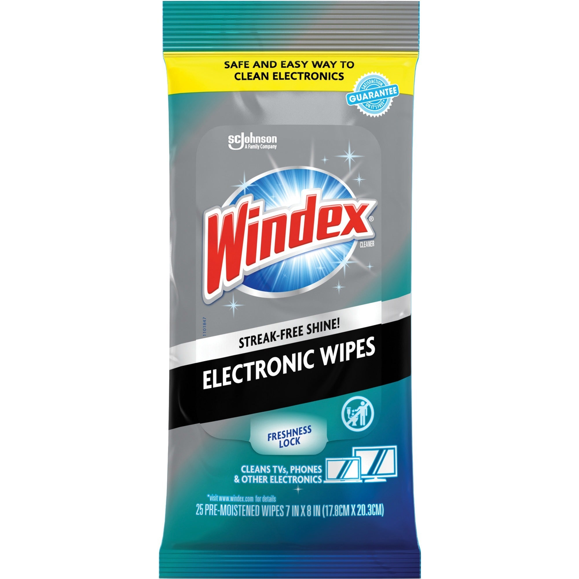 Windex Electronic Wipes 25ct
