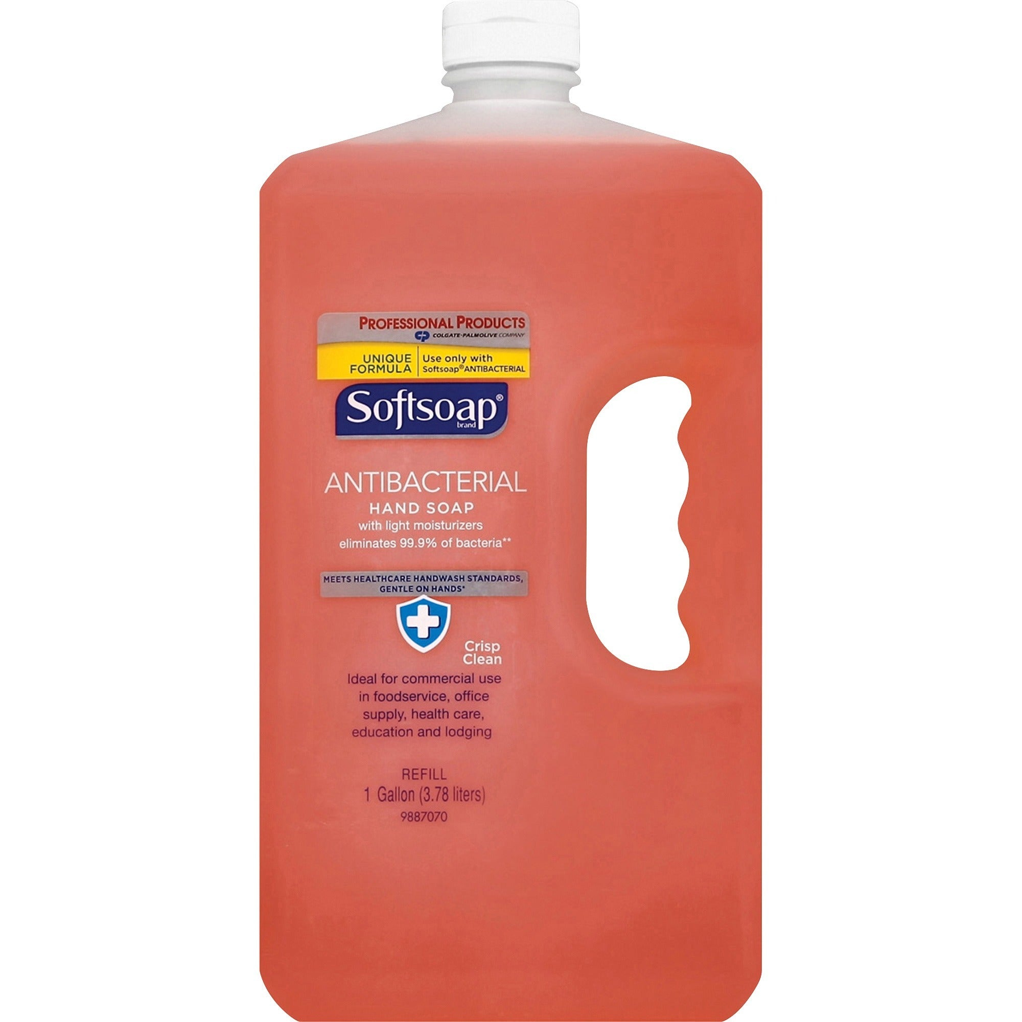 Softsoap Antibacterial Hand Soap Refill -1gallon Bottle