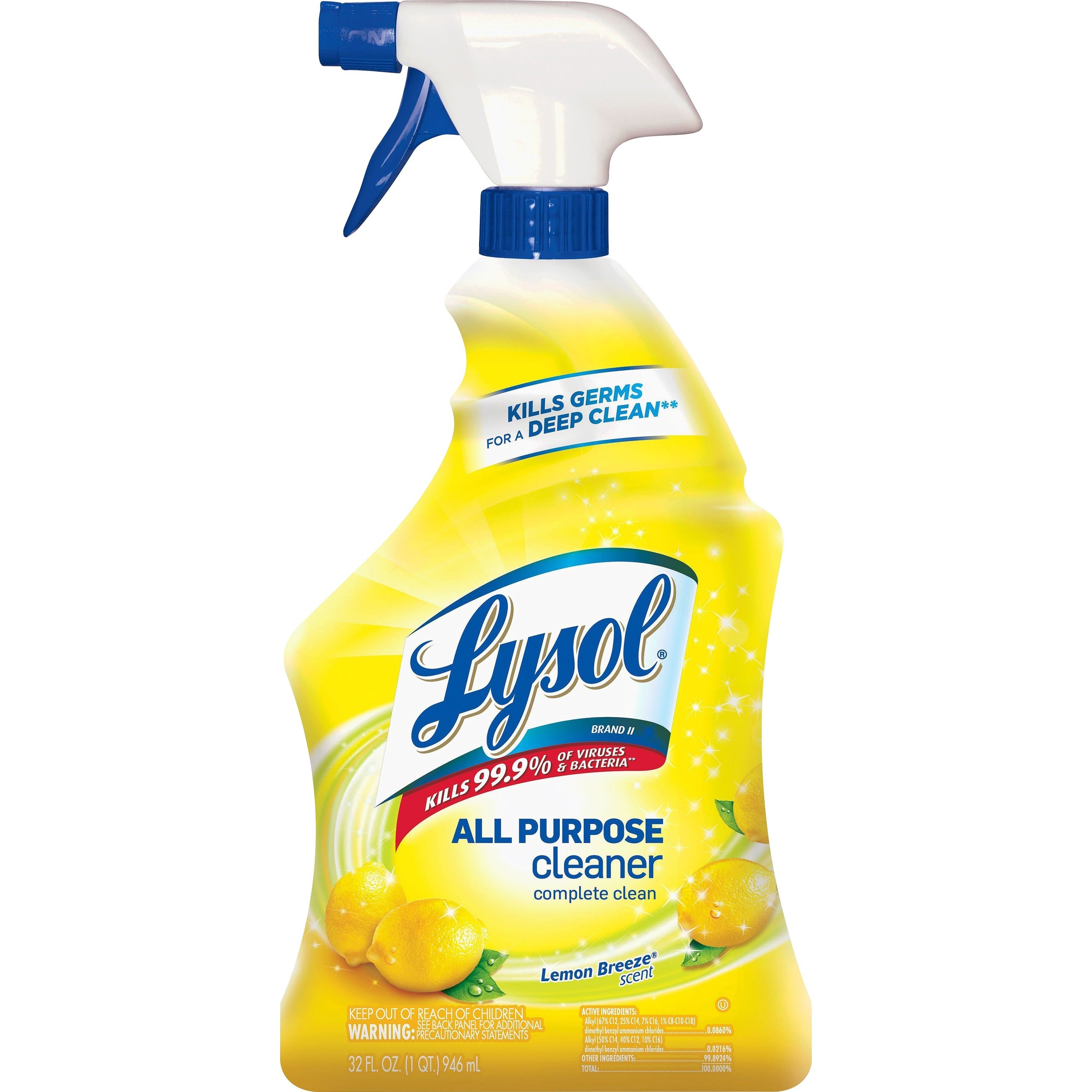 Lysol All-purpose Cleaner Lemon Scent Spray 32oz