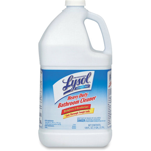 Lysol Disinfectant Heavy Duty Bathroom Cleaner 128oz