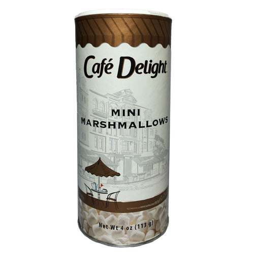 Mini Marshmallows Canister | Café Delight™