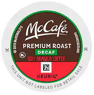 Premium Roast Decaf Coffee K-Cup® Pods