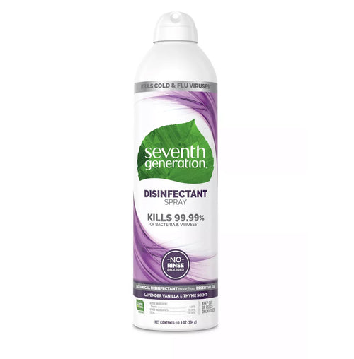 Seventh Generation Disinfecting Cleaner 13.9oz Lavender Vanilla & Thyme Scent