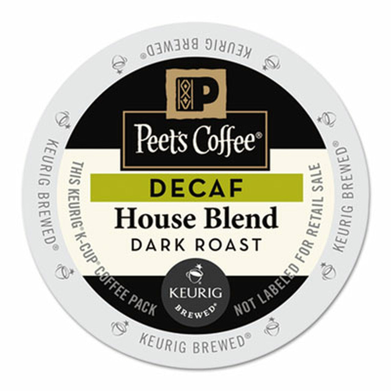Peet's House Blend Decaf K-Cup Pods