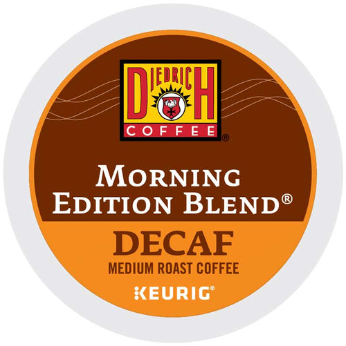 Morning Edition Blend Decaf Coffee, K-Cup | Diedrich