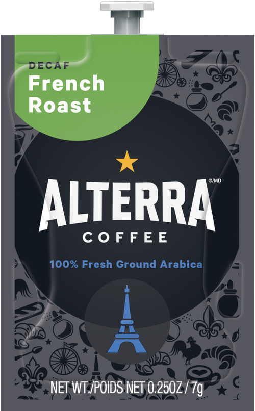 Flavia® French Roast Decaf Freshpacks