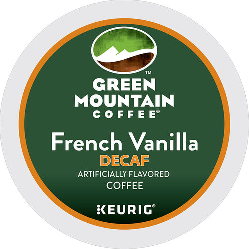 French Vanilla Decaf Coffee, K-Cup, Flavored, Decaf | Green Mountain Coffee®