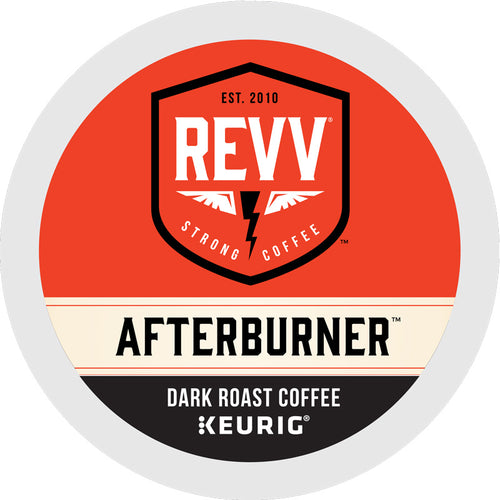 REVV Afterburner Dark Roast K-Cup Pods, 24-count box | Keurig Green Mountain