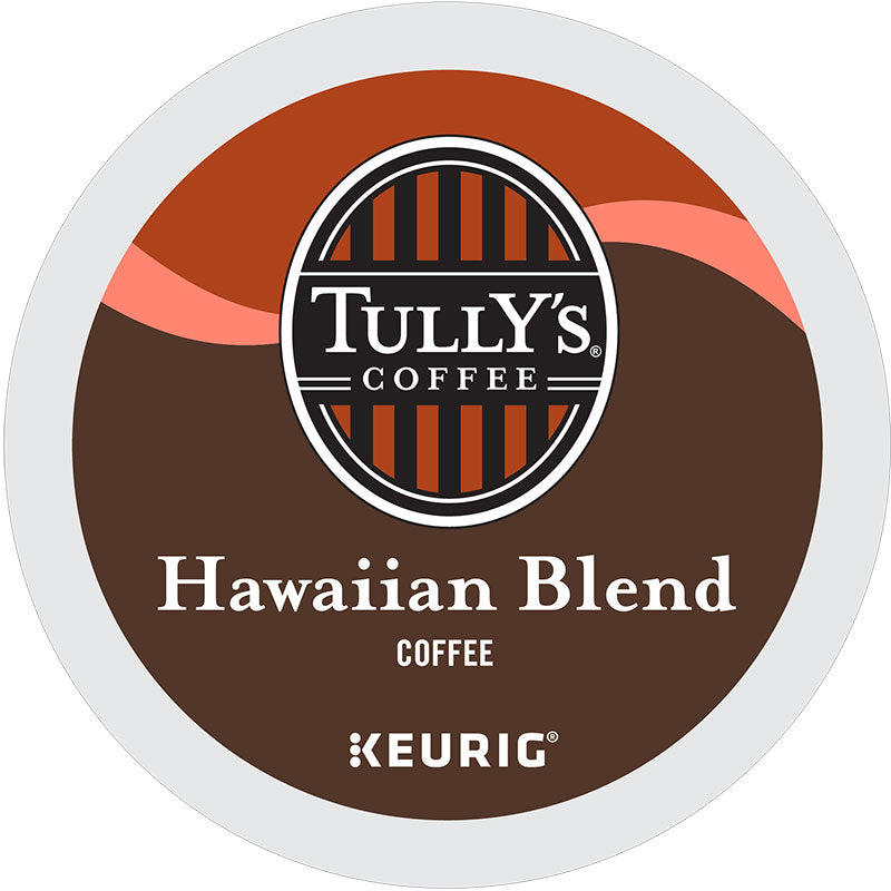 Hawaiian Blend Medium Roast, Extra Bold, K-Cup, Keurig | Tully's® Coffee