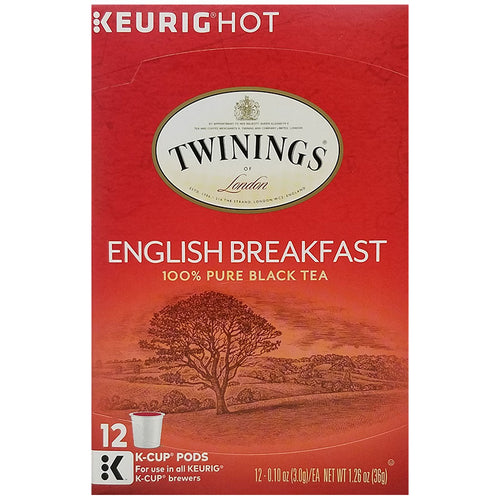 English Breakfast Tea, K-Cup, Keurig | Twinings of London