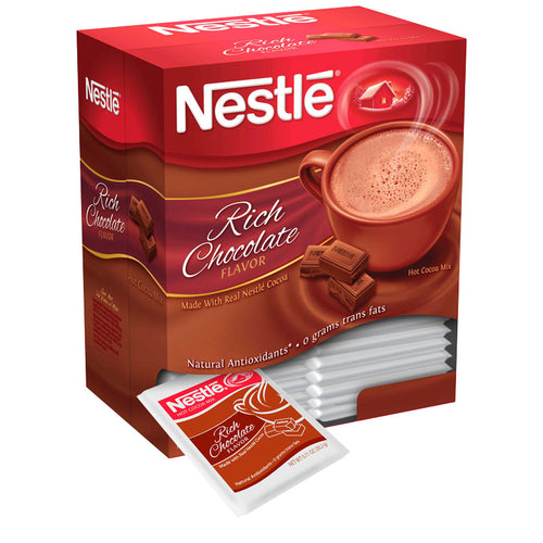 Rich Chocolate Hot Cocoa Mix, 50-0.71oz Envelopes | Nestlé®