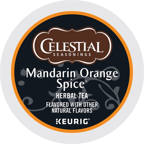 Mandarin Orange Spice Herbal Tea, K-Cup, Keurig | Celestial Seasonings®