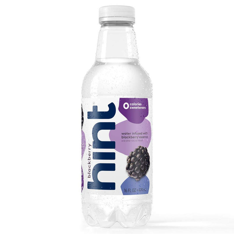 Hint Water Blackberry 12/16oz