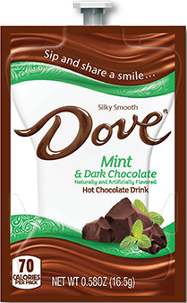 Mint Dark Hot Chocolate Flavia® Freshpacks