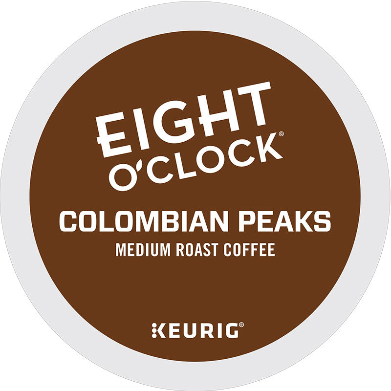 Explorations Colombian Peaks Coffee, Medium Roast | Eight O'Clock Coffee