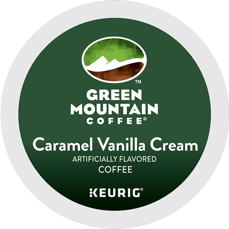 Caramel Vanilla Cream Coffee K-Cup® Pods