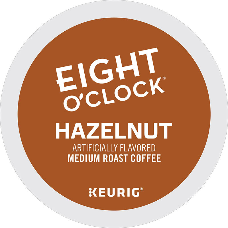 Hazelnut Coffee, K-Cup® Pod, Medium Roast | Eight O'Clock®