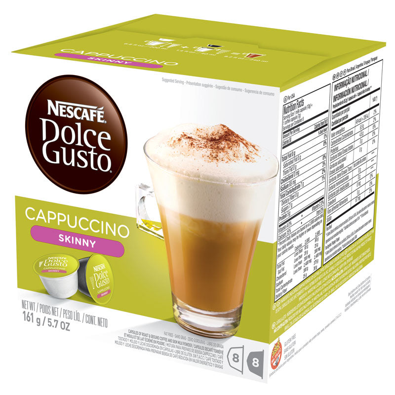 Skinny Cappuccino Dolce Gusto® Capsules