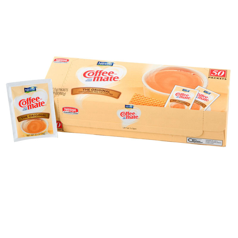 Coffee-Mate Original Powered Creamer Packets 50 count | Nestle