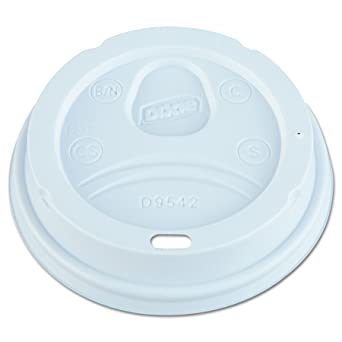 Dixie 10/12/16oz Dome Lids 4x25ct Sleeves (100)